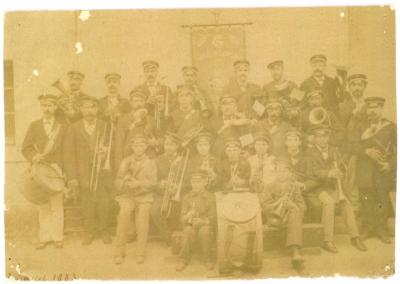 Fanfare Lignières - 1882