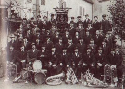 Fanfare de Lignières - 1926