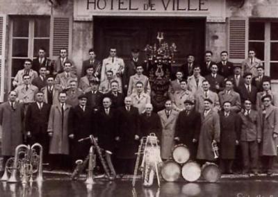 Fanfare de Lignières - 1951