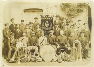 Fanfare de Lignières - 1892