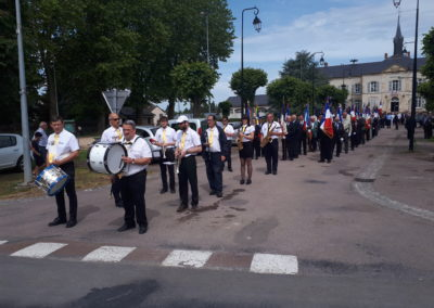Défilé Dun-sur-Auron - Congrès Anciens Combattants du Cher