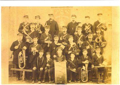 Fanfare de Lignières 1885