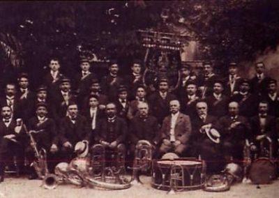 Fanfare de Lignières 1912