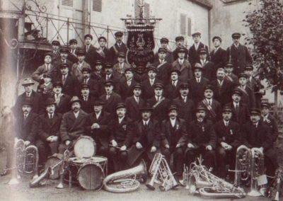 Fanfare de Lignières 1926