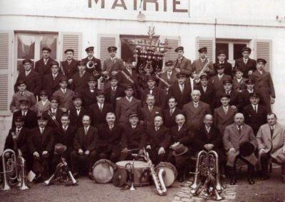 Fanfare de Lignières 1936