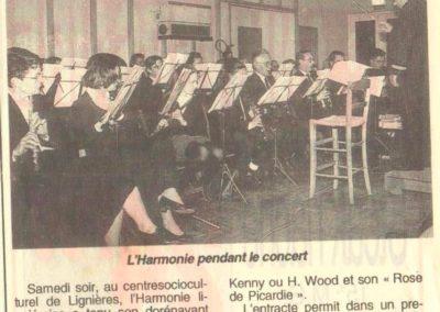Concert Fanfare de Lignières 13.05.1995