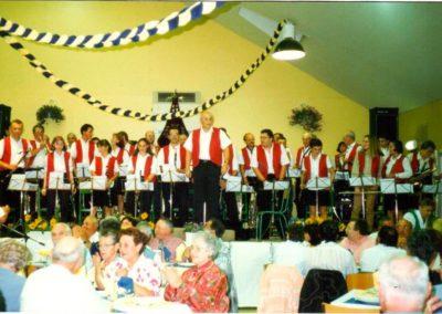 Concert Harmonie Lignières Choucroûte 20.09.1997