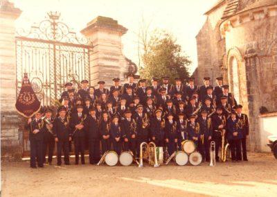 Fanfare de Lignières 1982