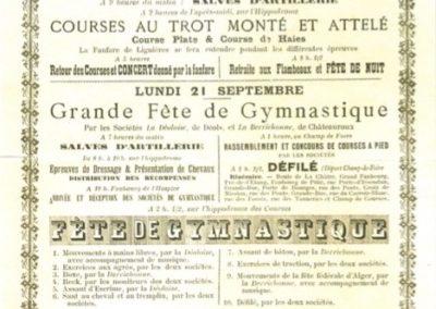Programme du 20 et 21.09.1896