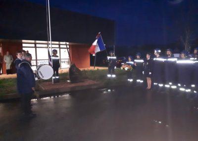 Sainte Barbe Lignières 2018 - Cérémonie